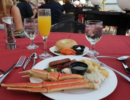 Enjoy Sunday Brunch at Ophelia's on the Bay Siesta Key, FL