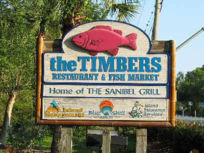 The Timbers Restaurant & Fish Market, Sanibel Island