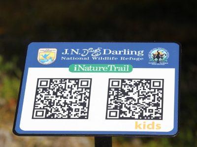 QR reader tag_Ding Darling Wildlife Refuge Sanibel Island_Must Do