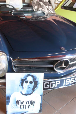 Must Do Visitor Guides Sarasota Classic Car Museum - John Lennon's Mercedes