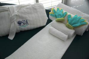 The Spa at the Naples Beach Hotel and Golf Club, Naples, Florida.
