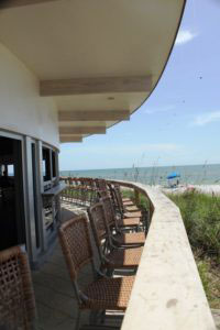The Sunset Bar and Grill at the Naples Beach Hotel