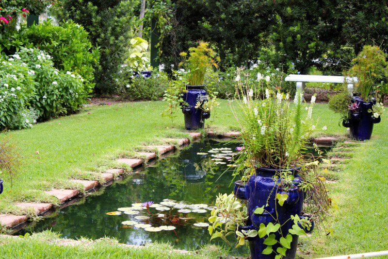 Gardens at Edison & Ford Winter Estates in Fort Myers were planted to support much of Edison's botanic research