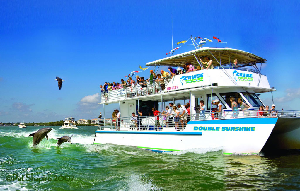 Pure Florida dolphin, sightseeing tours of Naples, Florida.