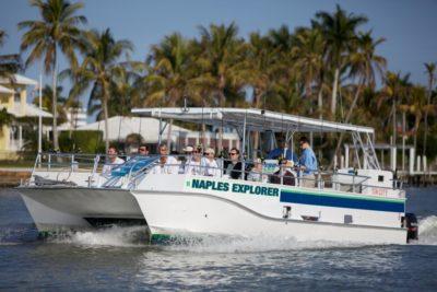 MustDo.com | Pure Florida the Naples Explorer family friendly fishing charters in Naples, Florida