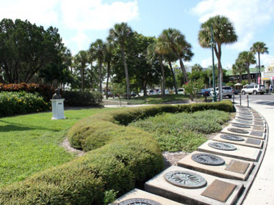 MustDo.com | Circus Sidewalk of Fame St. Armands Circle Sarasota, Florida.