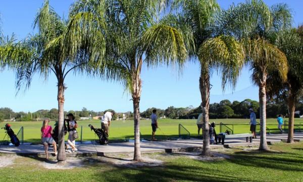 Evie's Family Golf Center Driving Range Sarasota, Florida family activities, golf