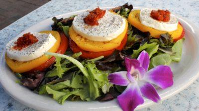 MustDo.com | Fresh tomato caprese salad Key Lime Bistro, Captiva Island, FL