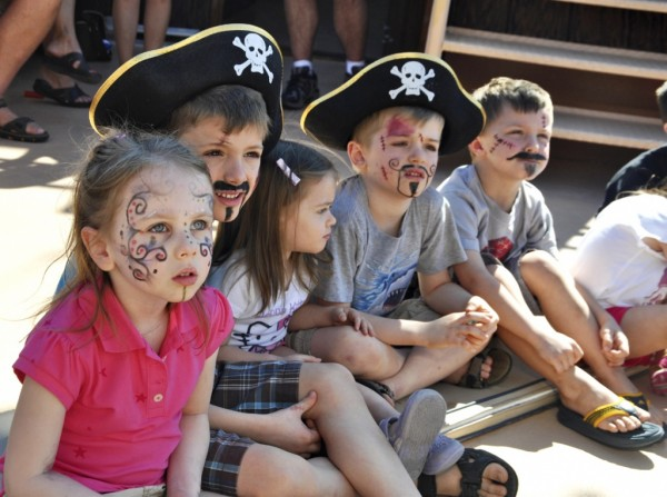 Kids enjoy Pieces of Eight Pirate Cruise Fort Myers Beach, Florida