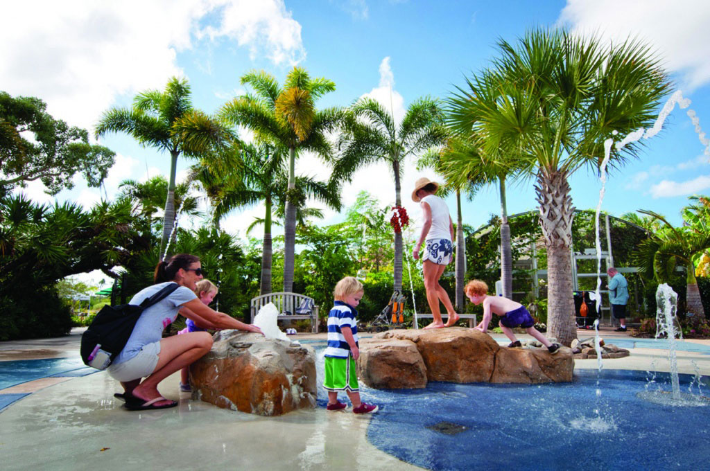 Naples botanical gardens designed with children in mind - Botanical gardens naples florida ...