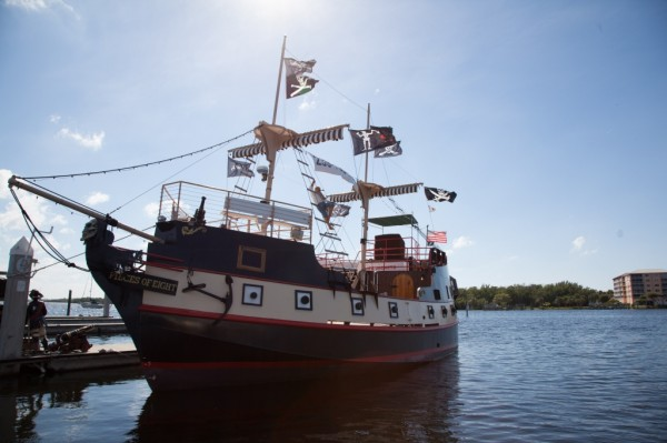 Pieces of Eight Pirate Ship Family Fun activities in Fort Myers Beach, Florida