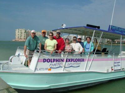 The Dolphin Explorer tour group Marco Island, Florida