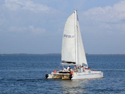Captiva Cruises sail boat sunset cruise off Captiva Island, Florida