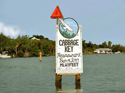 Sightseeing tours to Cabbage Key, Florida with Captiva Cruises