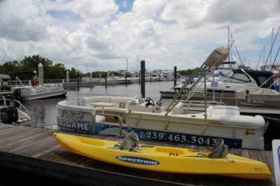 Salty Sam's Marina Boat and Kayak Rentals Fort Myers Beach, Florida
