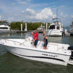 Salty Sam's Marina Pro Line boat rentals in Fort Myers Beach, Florida