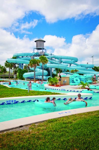 MustDo.com | Lazy River, waterslides at Sun-n-Fun Lagoon Collier County waterpark Naples, Florida