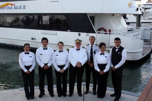 Marina Jack II boat crew Sarasota, Florida