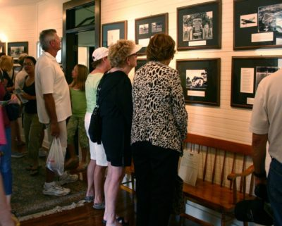 Naples Historical Society Palm Cottage historical photo exhibit