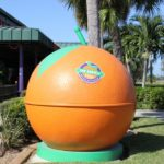 MustDo.com | Iconic orange at Sun Harvest Citrus Fort Myers, Florida