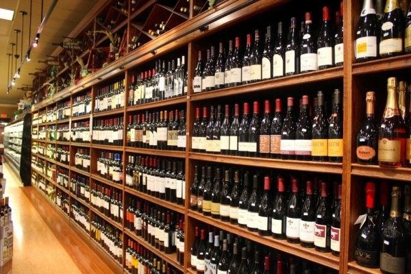 Wynn's Market wine department Naples, Florida