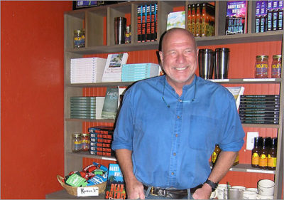 MustDo.com | Author Randy Wayne White Doc Ford's Rum Bar & Grille Fort Myers Beach, Florida.