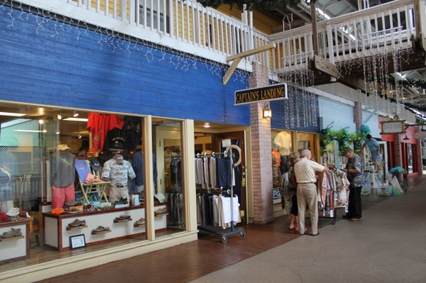Captains Landing men's wear Fishermen's Village shopping