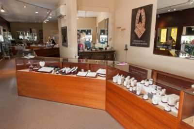 Created Gems in Gold and Sliver Siesta Key, Florida jewelry shop