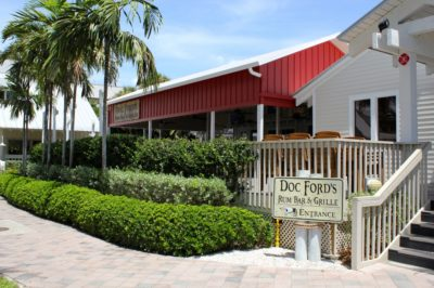 Must Do Visitor Guides | MustDo.com | Doc Ford's Rum Bar & Grille Captiva Island waterfront restaurant.