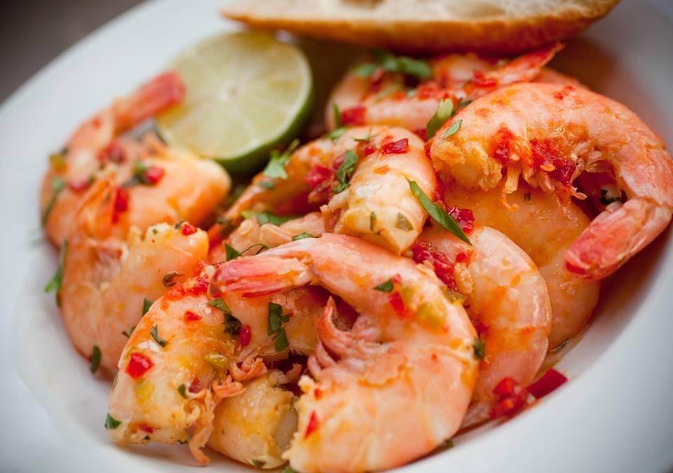 MustDo.com | Doc Ford's Rum Bar & Grille Yucatan Shrimp Sanibel, Captiva, Ft. Myers Beach, Florida