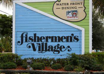 Fishermen's Village entrance Punta Gorda, Florida