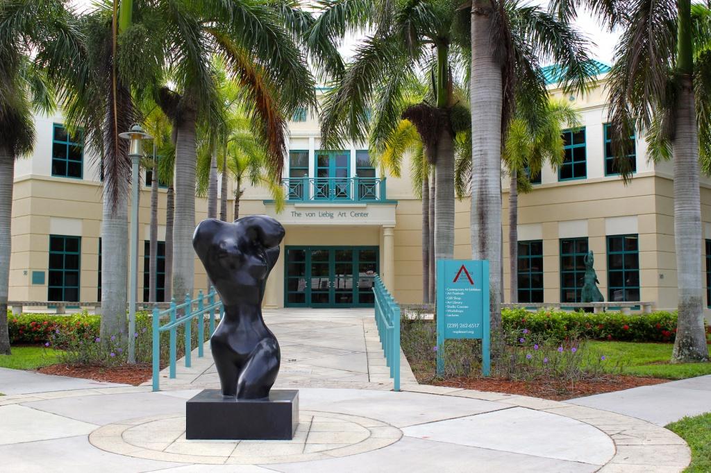 The von Liebig Art Center Naples, Florida Galleries and Attractions