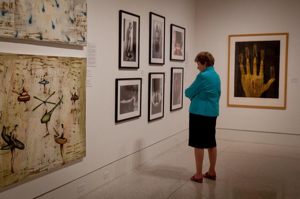 The von Liebig Art Center Naples, Florida galleries