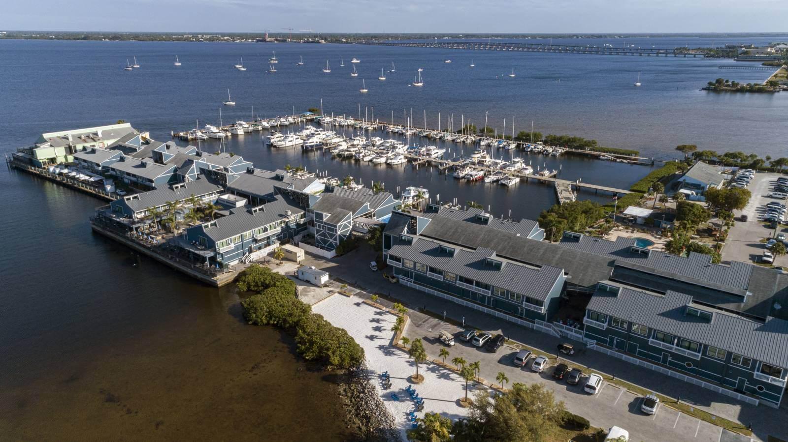 Fishermen's Village resort vacation rental villas Punta Gorda, Florida.
