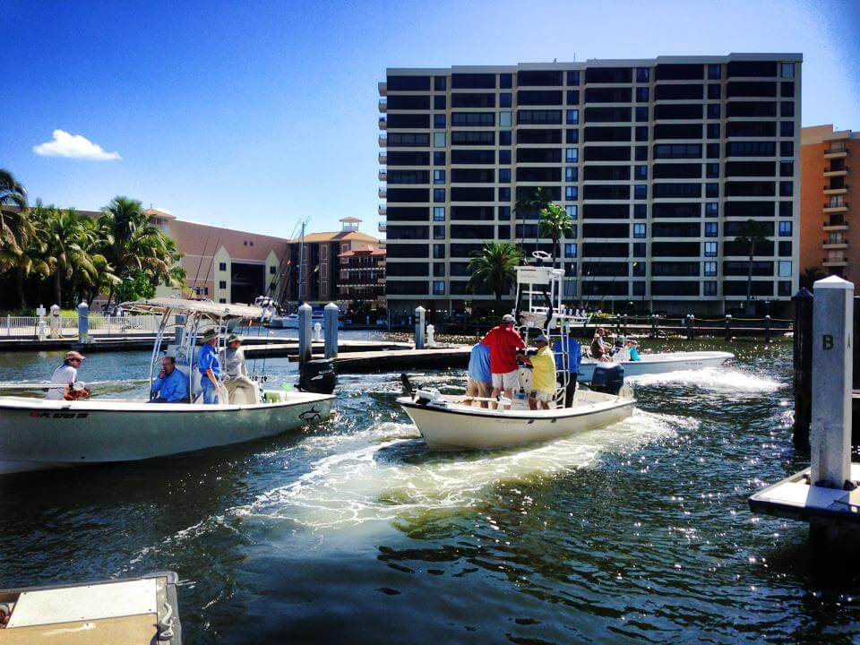 Holiday water sports information and locations in area for Fishing charter fort myers beach fl