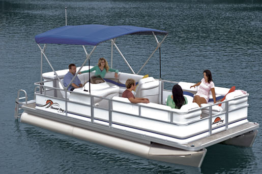 Holiday Water Sports Pontoon Boat rental Fort Myers Beach, FL