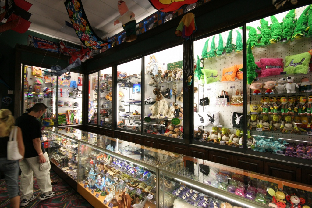 Livingstons Amusement Center arcade prize center Sarasota, FL