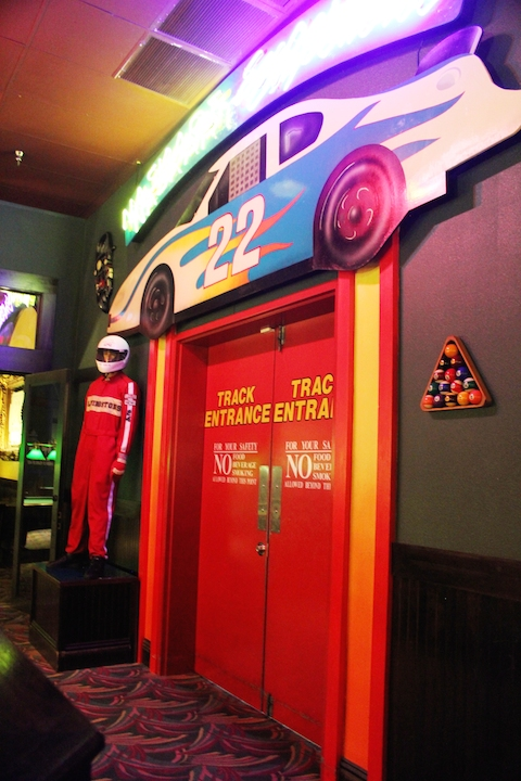 Livingston's Amusement Center go kart race track Sarasota, Florida