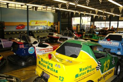 Livingston's Amusement Center indoor go kart race track Sarasota, FL