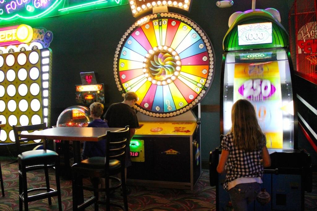Livingston's Amusement Center video game arcade Sarasota, FLorida