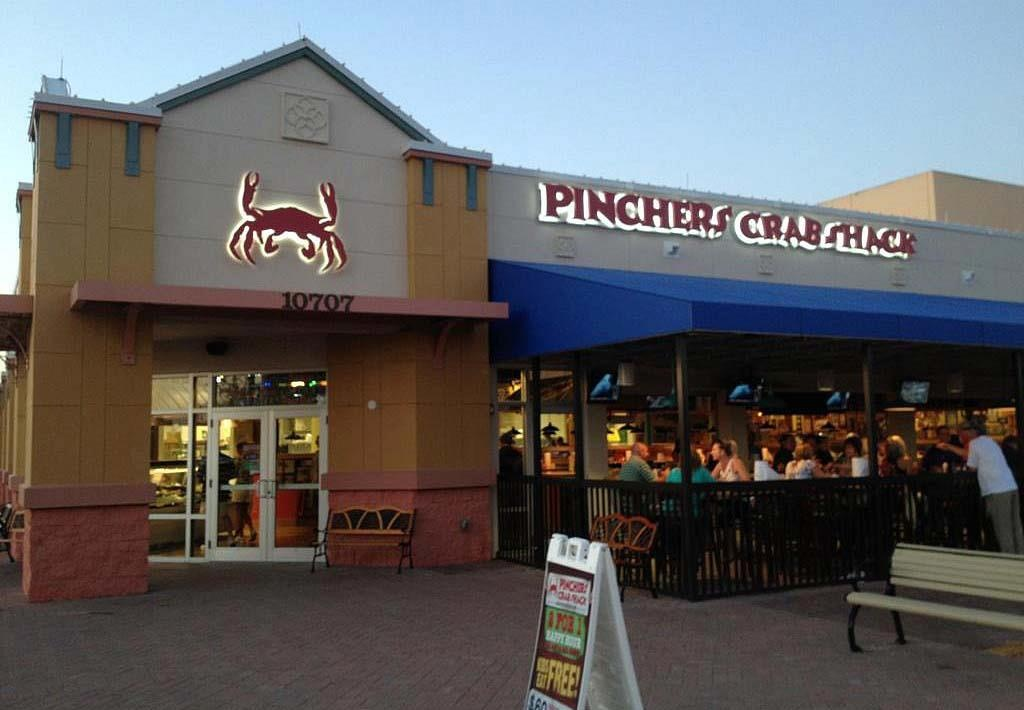 Pinchers crab shack full review and peek inside location for Ford s fish shack menu