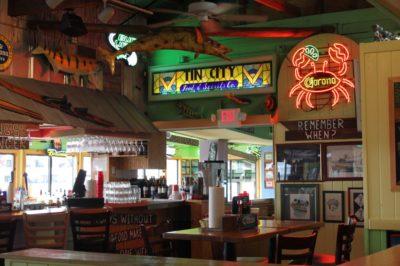 Pinchers Crab Shack restaurant Tin City Naples, Florida