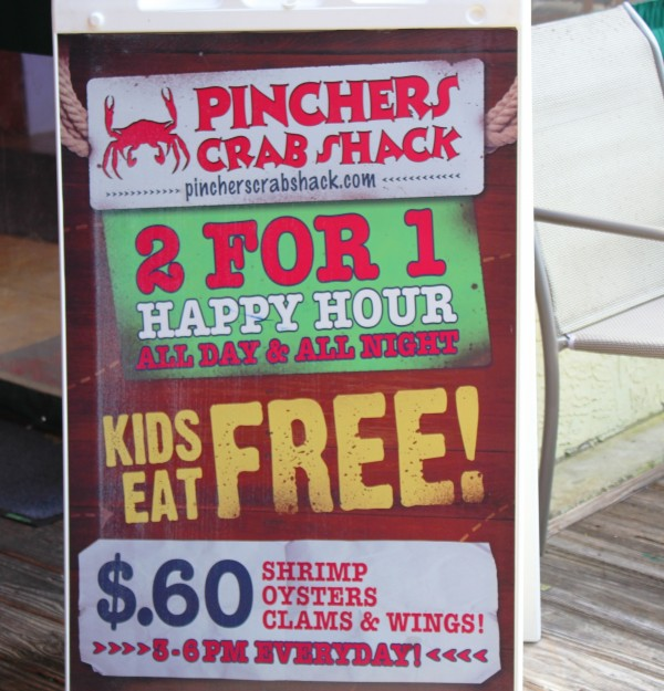 Pinchers Crab Shack restaurant Tin City Naples dining