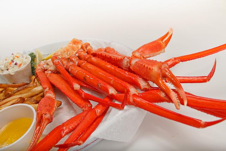 Pinchers Crab Shack restaurnt Snow Crab