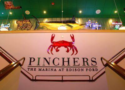 Pinchers Crab Shack restaurant at The Marina at Edison Ford Ft. Myers, Florida