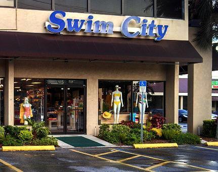 Swim City swimsuit shopping Sarasota, Florida