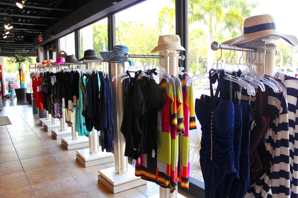 Swim City swimsuits, hats, flip flops Sarasota, Florida shopping