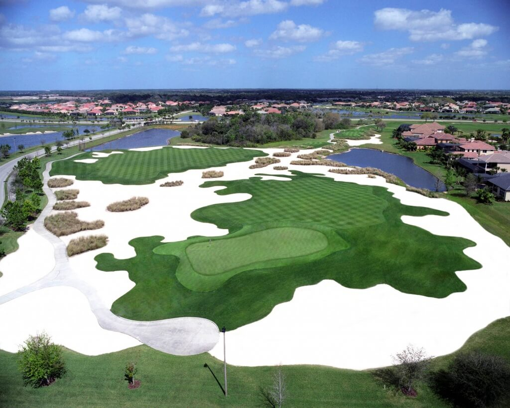 A Challenging Course At The Legacy Golf Club In Bradenton