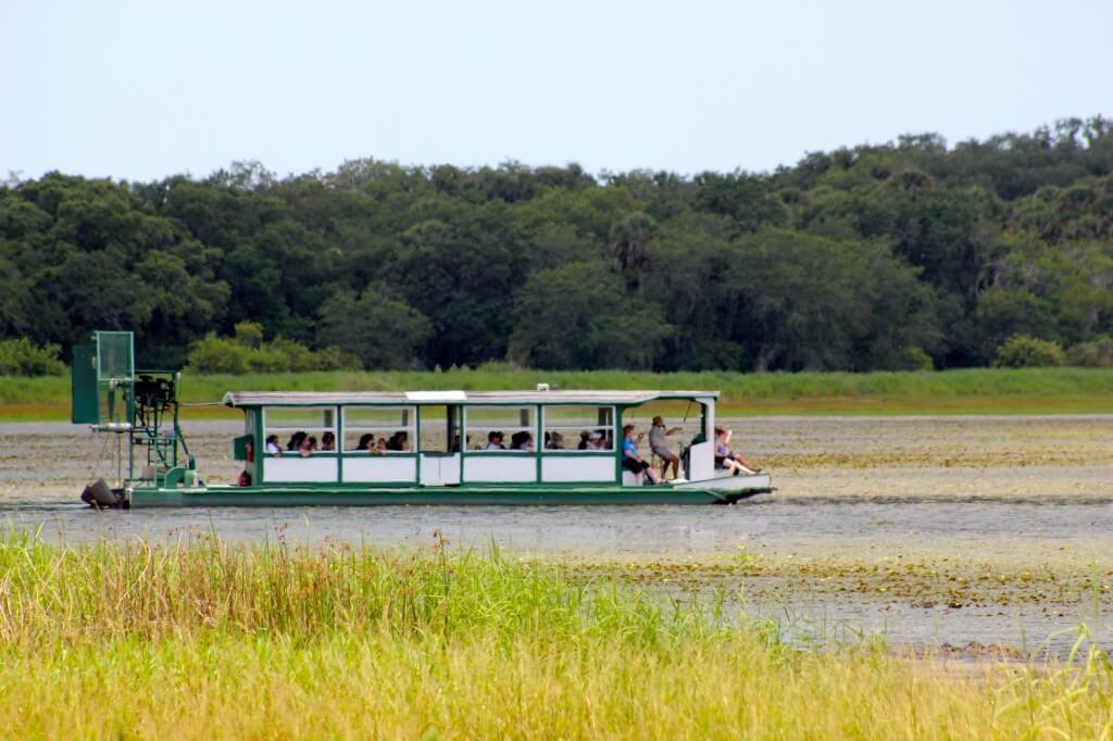 MustDo.com | Must Do Visitor Guides Myakka River State Park guided airboat tour Sarasota, Florida