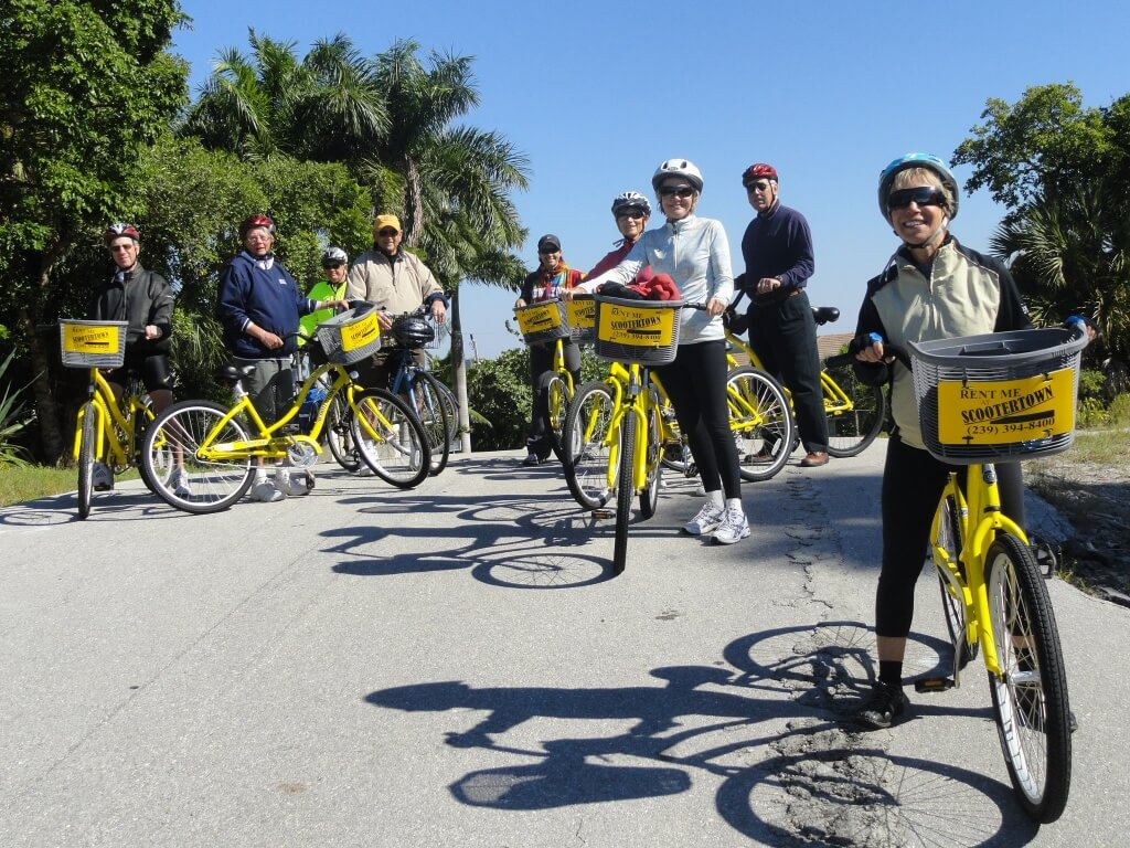 Scootertown bike rental and tours Marco Island, Florida